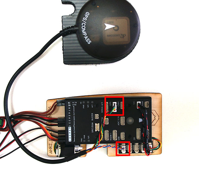 UAV Mapper Electronics and Pixhawk Installation